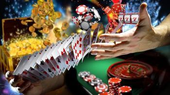 casino cartes mains or jetons roulette jeux
